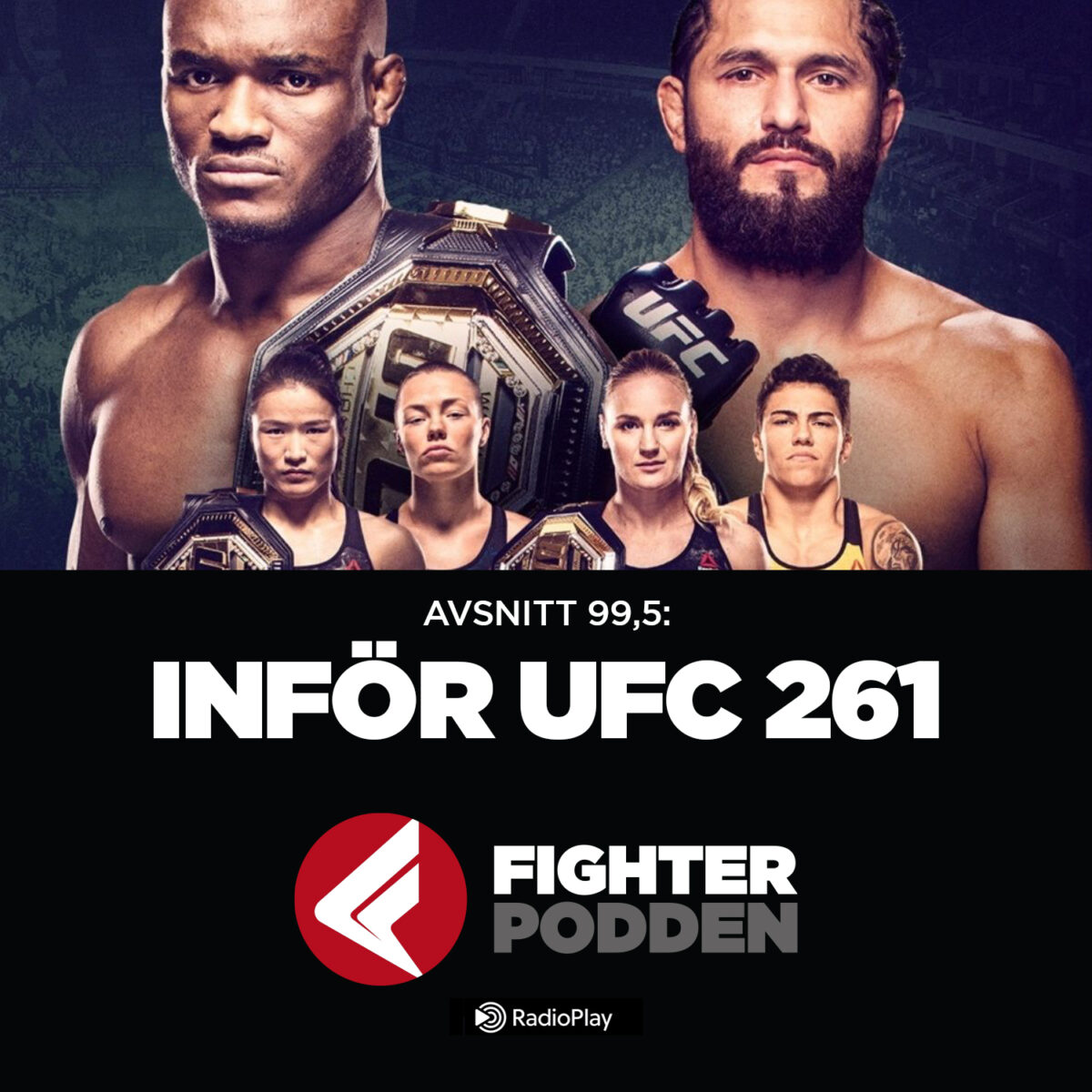 Fighterpodden 99,5 – Inför UFC 261