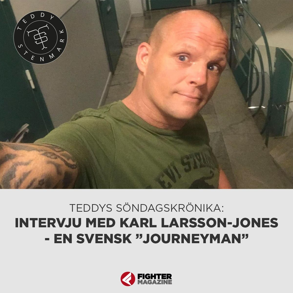 "Söndagskrönikan: Karl Larson-Jones en svensk ""Journeyman"" Berghults VM-fight i Kanada"