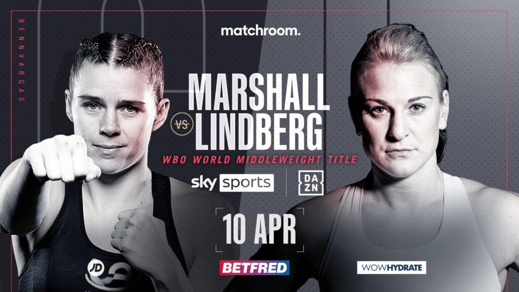 Maria Lindberg blixtinkallad för VM-match i London – möter Savannah Marshall om WBO-titeln på lördag