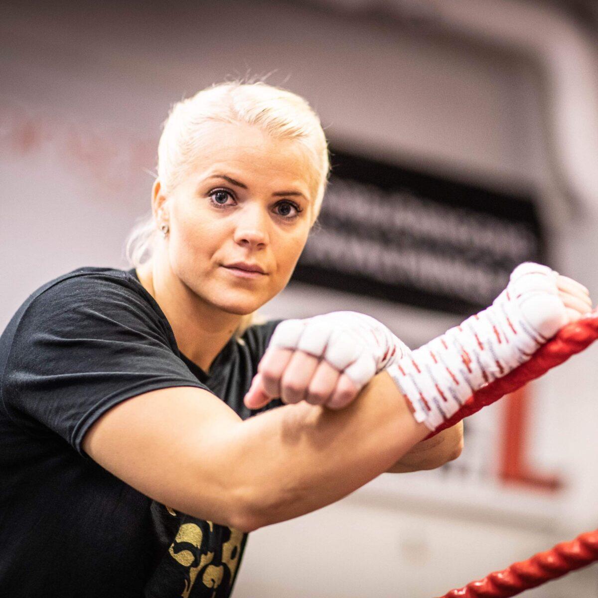 Fightweek för Marianne Ahlborg – boxas i Berlin på lördag, 10/4 – preliminär motståndare, Klaudia Vigh från Ungern