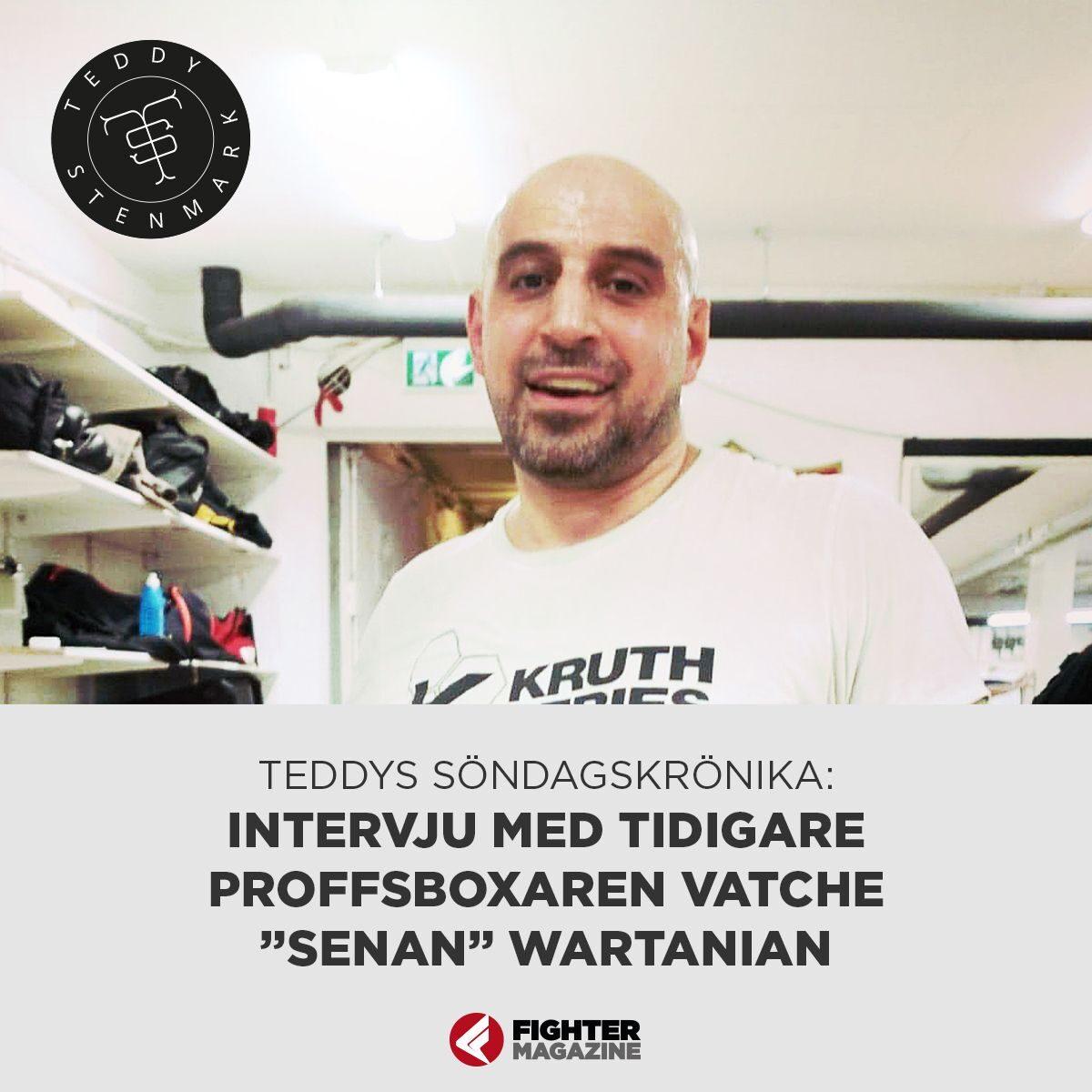 "Söndagskrönikan: Vatche ""Senan"" Wartanian, (intervju) – Ibrahim Bakhtiari och Gallen vs Browne"
