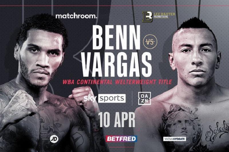INFÖR: Conor Benn vs. Samuel Vargas