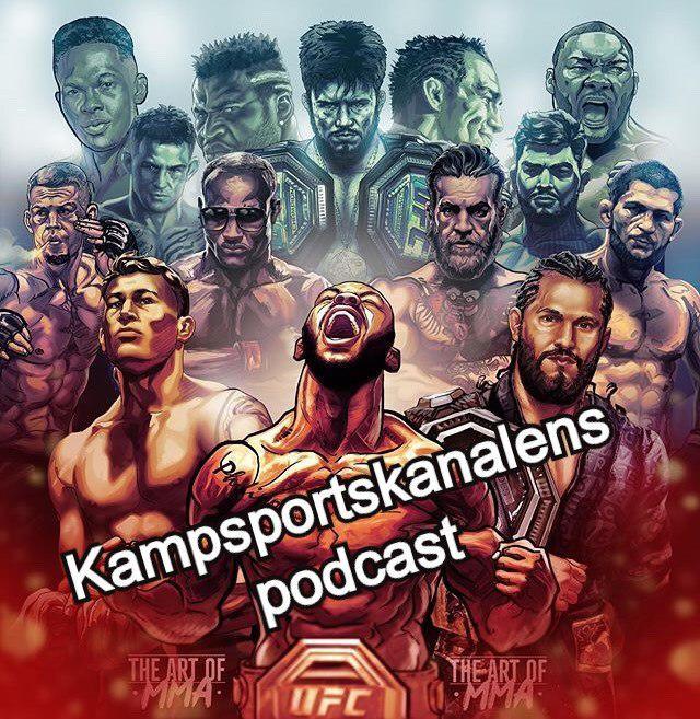 Kampsportskanalen Podcast pratar upp helgens matcher