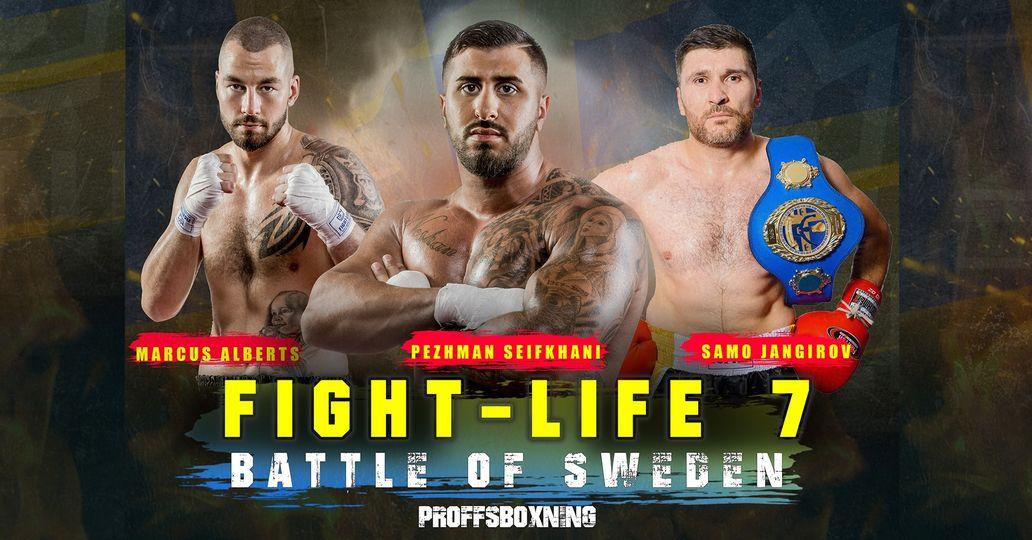 Två svenska titelmatcher när Fightlife Promotions kör sin debutgala för året den 10:e juli