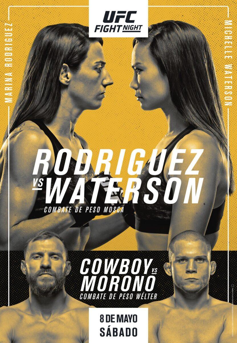 INFÖR: UFC on ESPN 24 – Rodriguez vs. Waterson