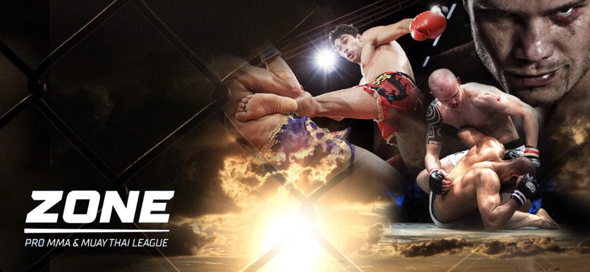 Zone är tillbaka – både med MMA och thaiboxning!