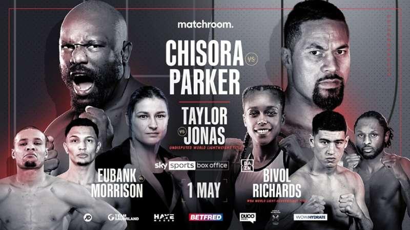 Derséns tre punkter: INFÖR Chisora vs. Parker