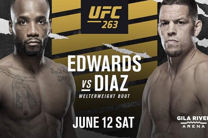 Krönika: Nate Diaz vs Leon Edwards är huvudmatchen på UFC 263 om ni frågar mig!