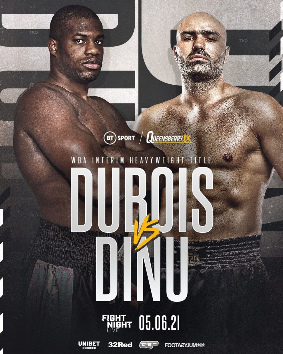 Frank Warren bjuder på tungviktsgala nu på lördag – Daniel  Dubois vs Bogdan Dinu