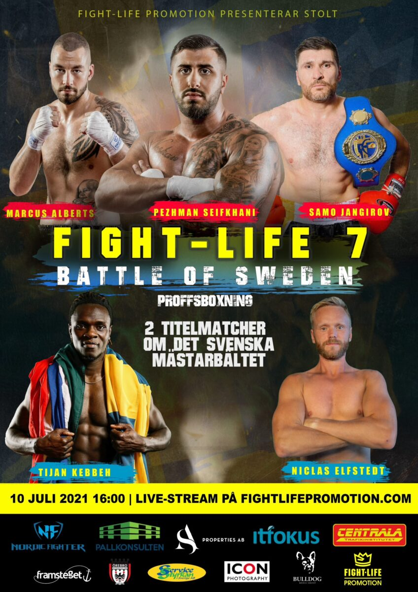 """Fightlife 7 – Battle of Sweden"" – Marianne Ahlborg senaste tillskottet"
