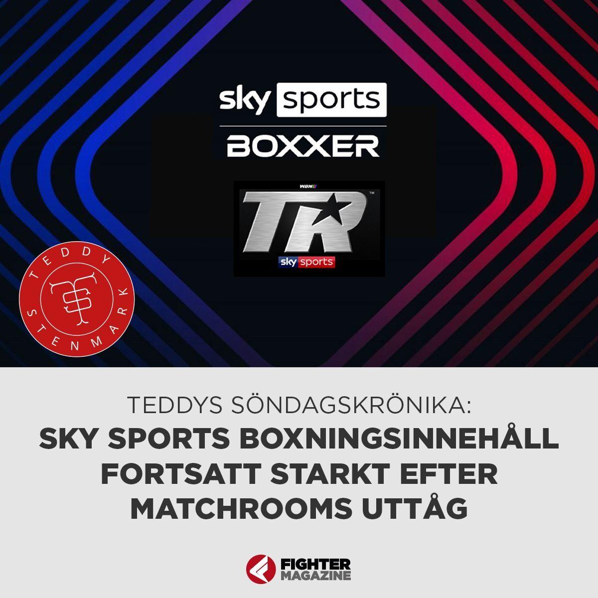 Söndagskrönikan: Sky Sports boxningsinnehåll fortsatt starkt efter Matchrooms uttåg