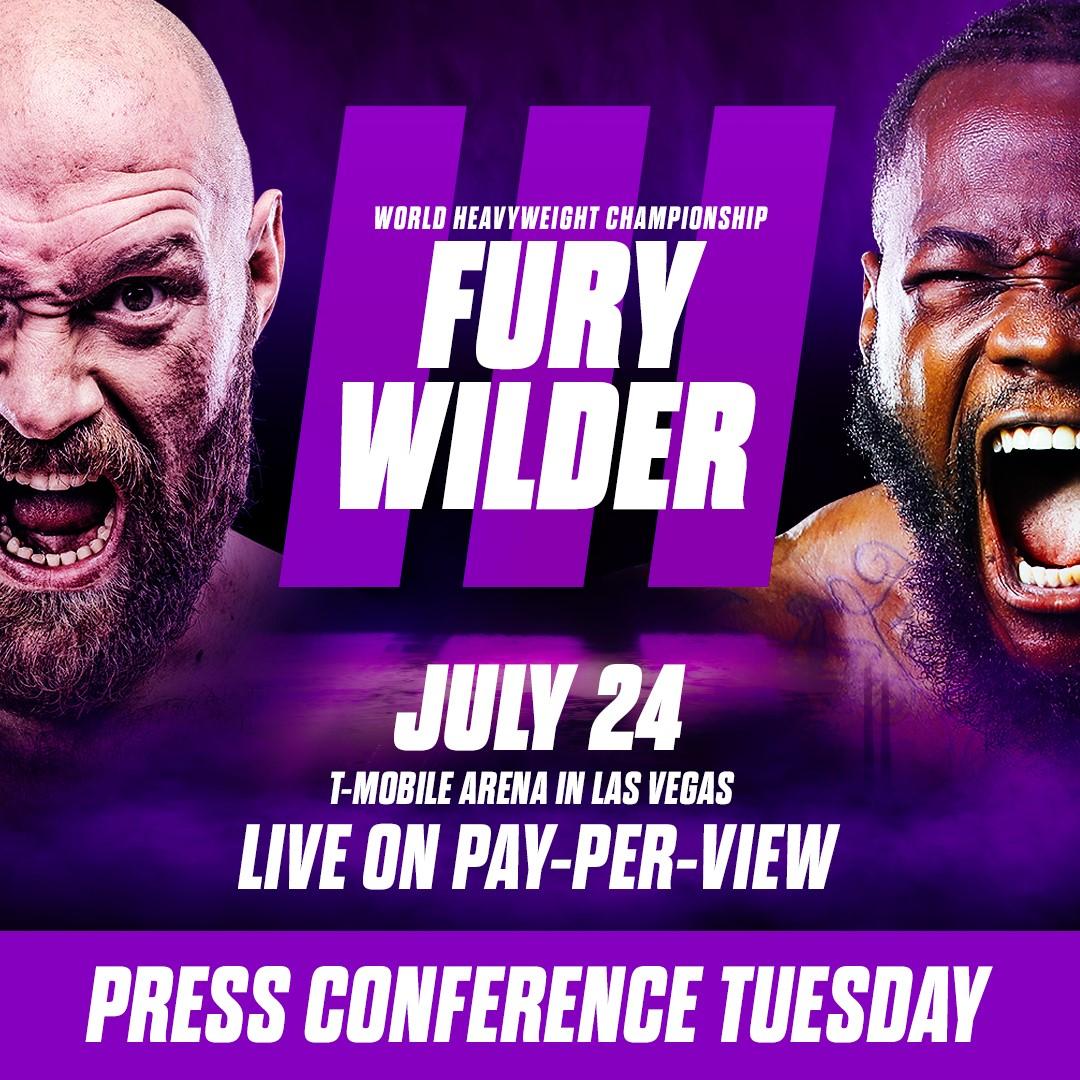 Kolla in presskonferensen för Wilder vs Fury 3 på Fighter Magazine