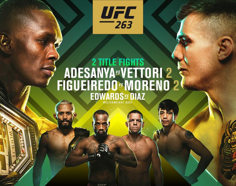 Inför UFC 263: Adesanya axlar favoritskapet mot Vettori