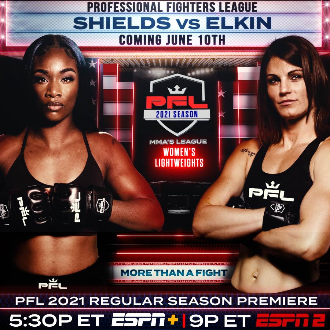 I natt äntrar boxningsstjärnan, Claressa Shields buren – Möter Brittney Elkin i Atlantic City