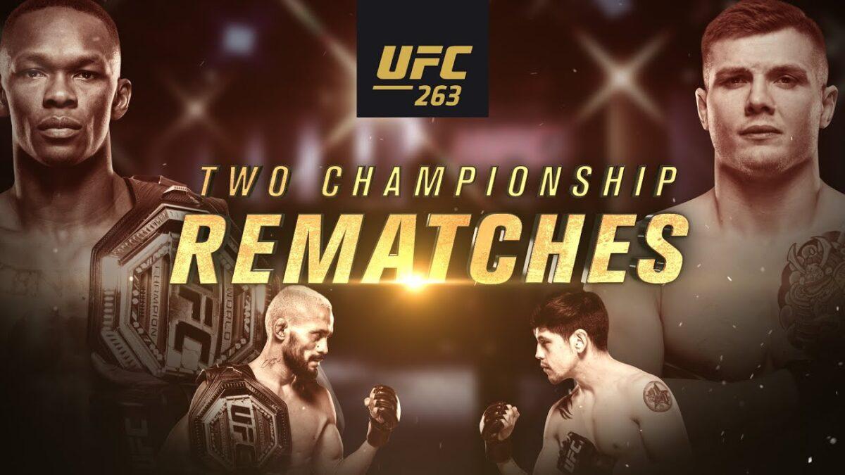 KRÖNIKA: UFC 263 – Returmatcher är speciellt