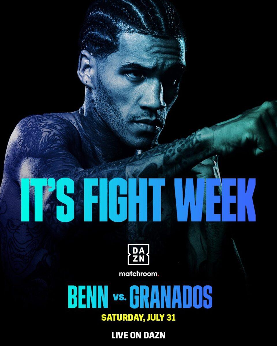 INFÖR: Matchroom Fight Camp 1 – Conor Benn är tillbaka