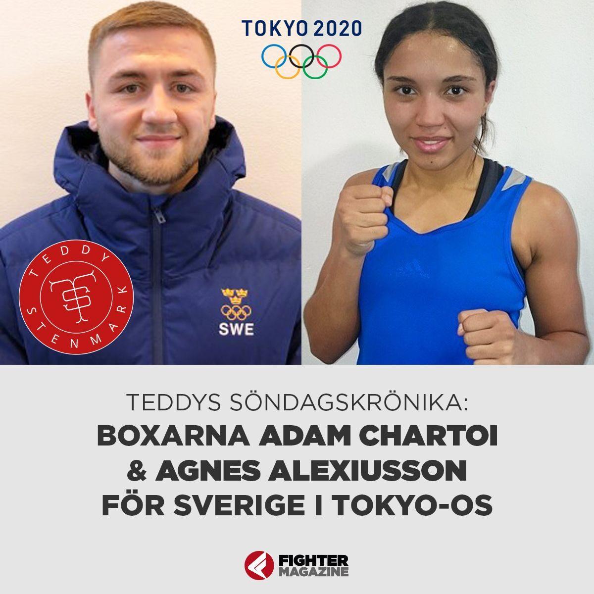 Söndagskrönikan: Adam Chartoi och Agnes Alexiusson för Sverige i Tokyo-OS