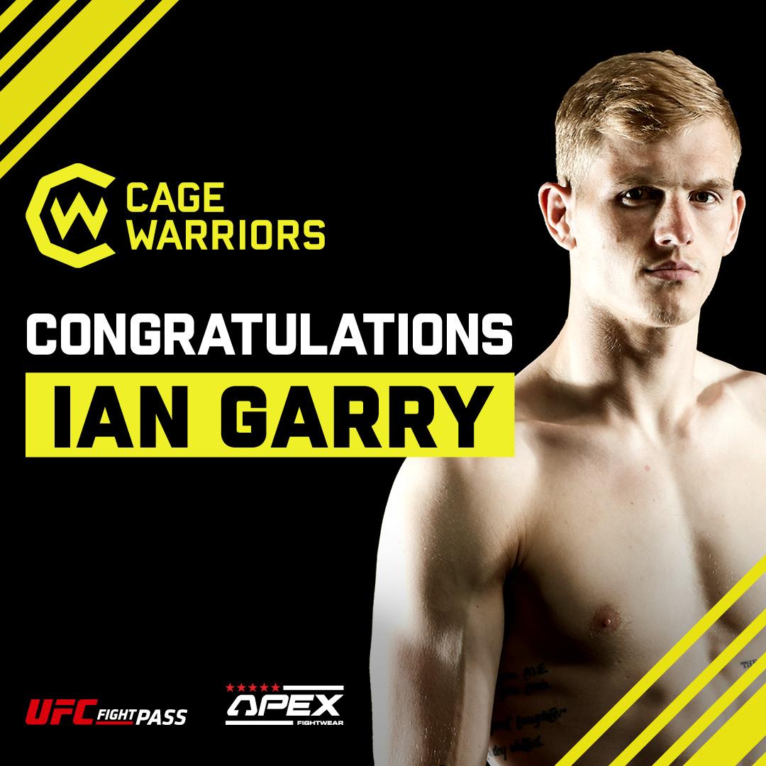 HÄNT I BUR & RING (3): Ian Garry till UFC – Anthony Yigit, Robin Safar har boxat och Cornelia Holm i buren den 24:e juli