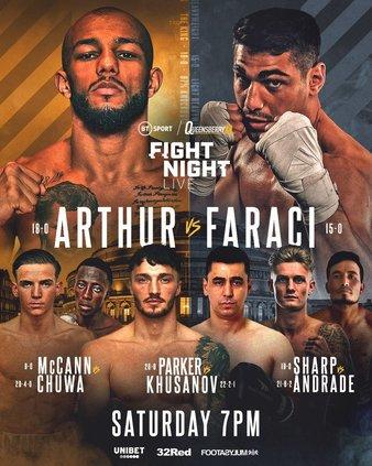 HÄNT I BUR & RING (2): UFC 264, Fightlife 7, Arthur vs. Faraci m.m.