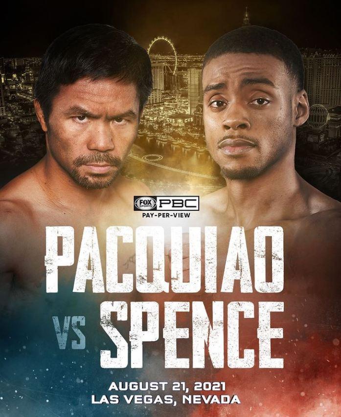 Stormatchen i weltervikt Manny Pacquiao vs. Errol Spence bara en dryg månad bort