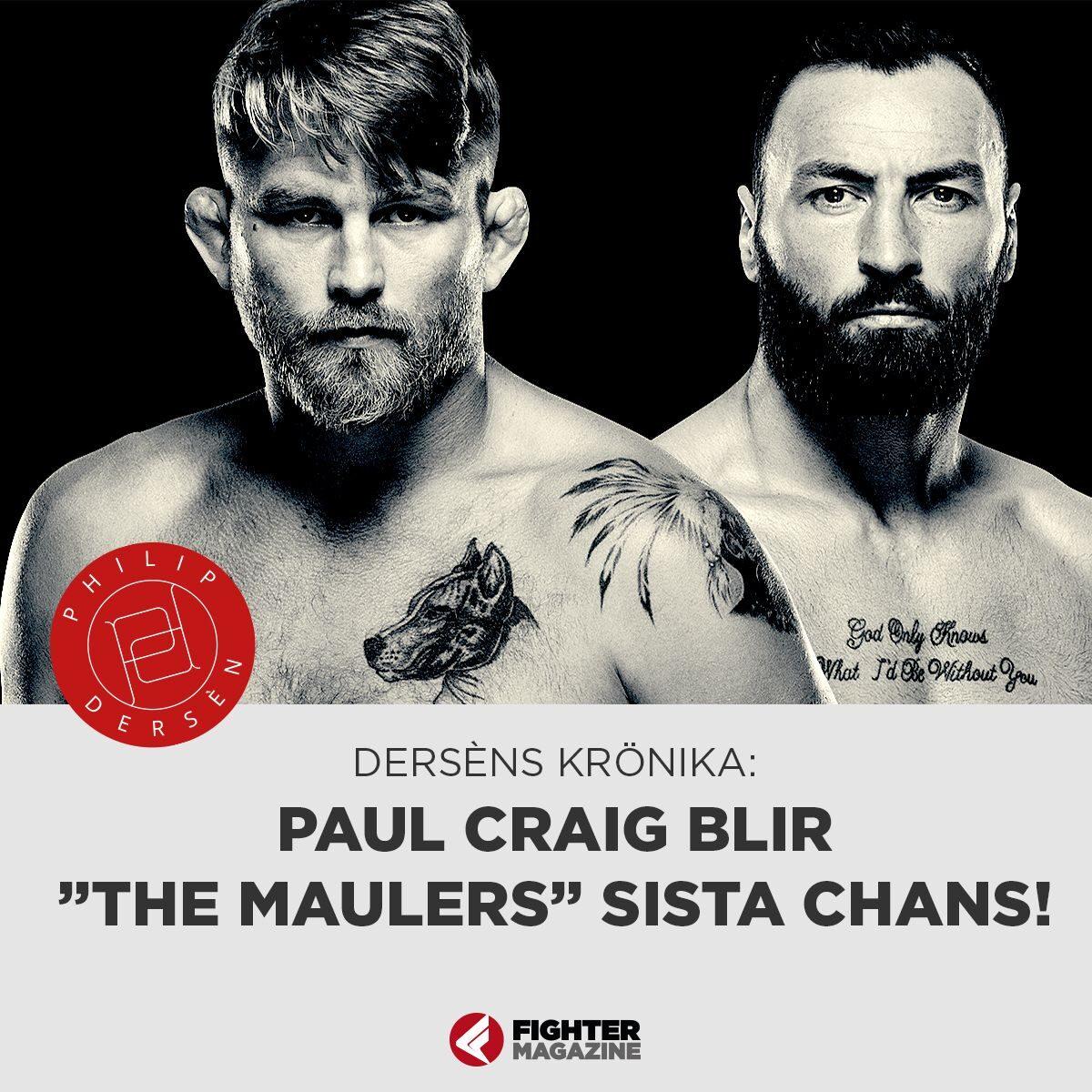 "KRÖNIKA: Paul Craig blir ""The Maulers"" sista chans"
