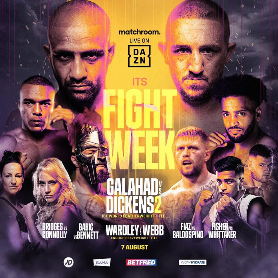 INFÖR: Matchroom Fight Camp 2 – Galahad vs. Dickens