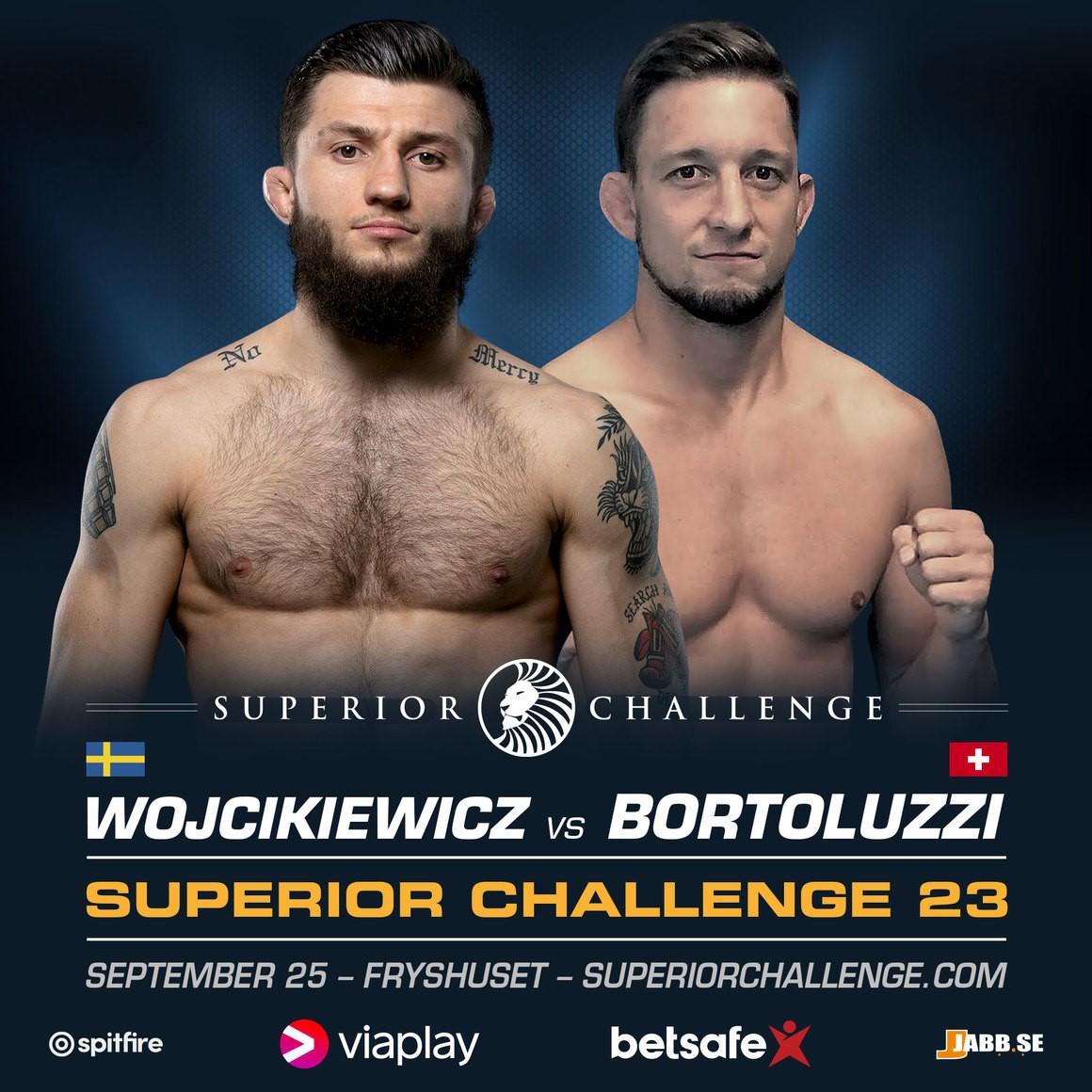 Bartosz Wojcikiewicz möter schweizaren, Kenjii Bartoluzzi på Superior Challenge