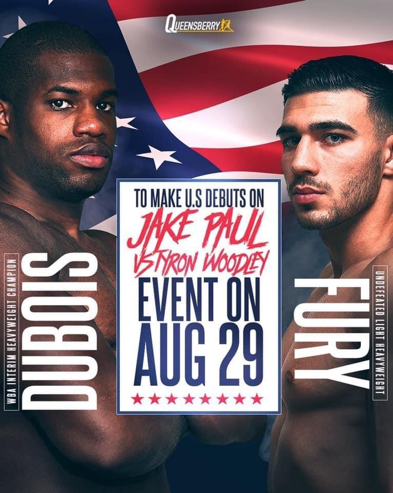 HÄNT I BUR & RING (7) – Dubois och Fury gör USA-debuter på Woodley vs. Paul m.m.