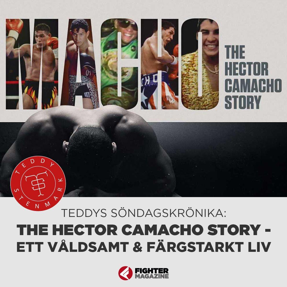 Söndagskrönikan: The Hector Camacho story – Ett våldsamt & färgstarkt liv