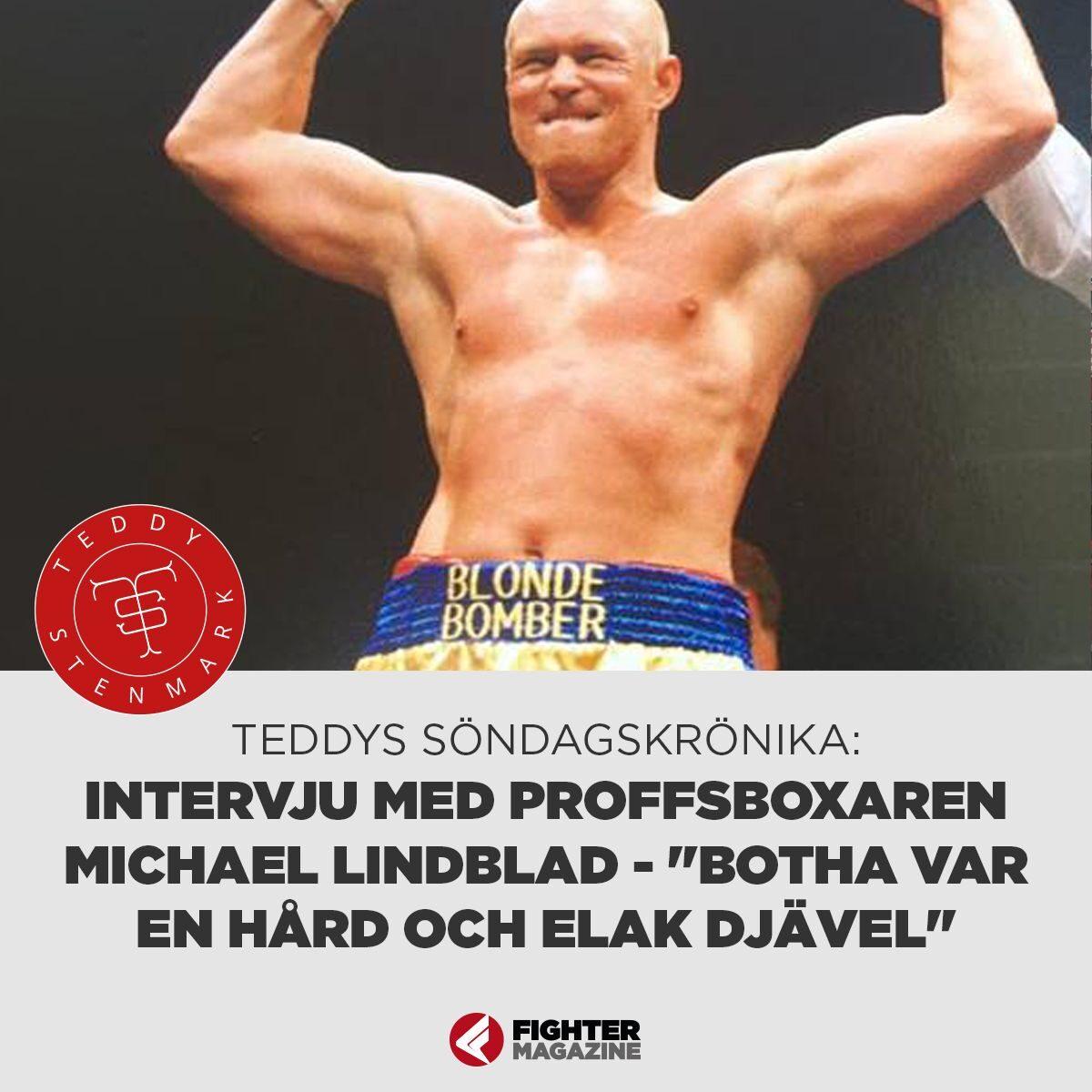 """Söndagskrönikan: Intervju med Michael Lindblad – """"Botha var en hård och elak djävel"""""""