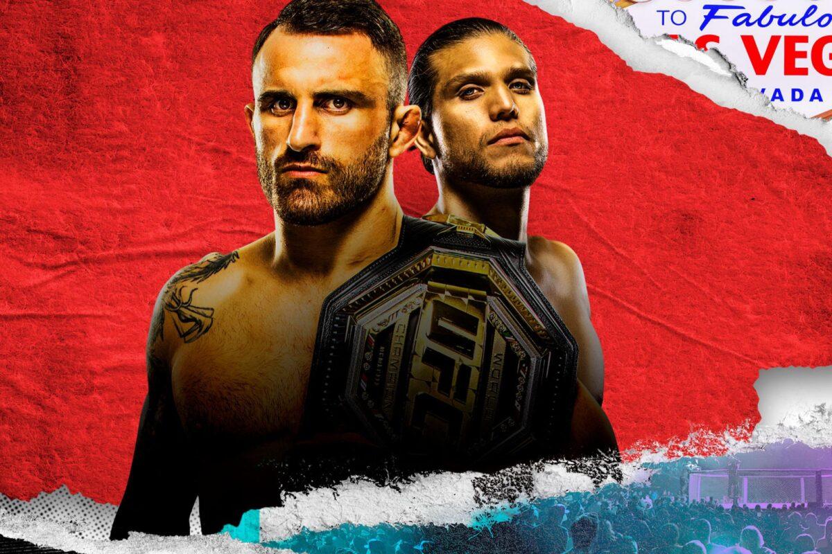 Inför UFC 266: Snart dags för supergala