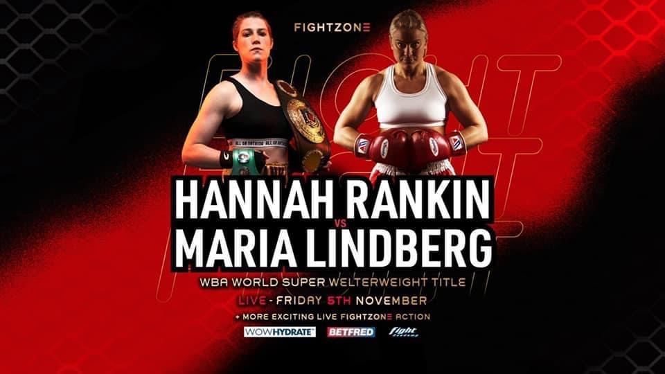Maria Lindberg får en ny chans på en VM-titel – möter Hannah Rankin från Skottland