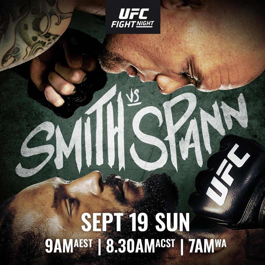 Inför UFC Fight Night 192: Smith vs. Spann
