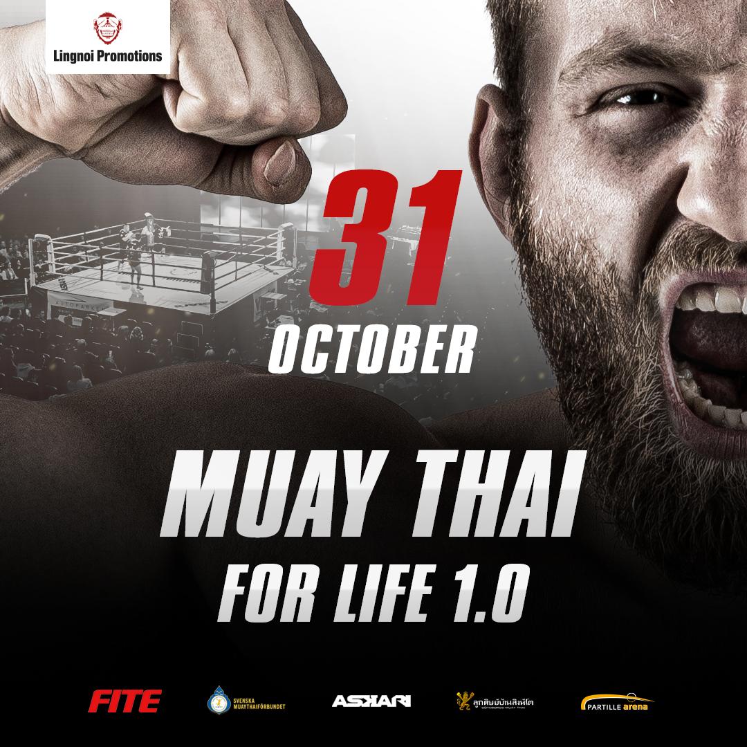 Lingnoi Promotions lanserar: Muay Thai For Life