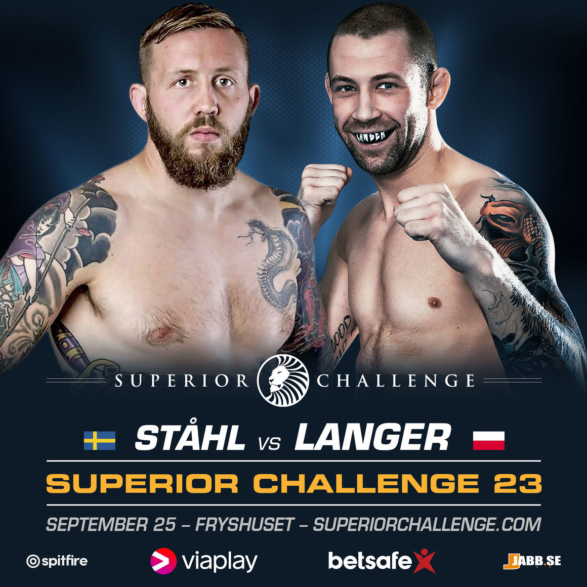 Superior Challenge 23: Andreas Ståhl möter Alan Langer