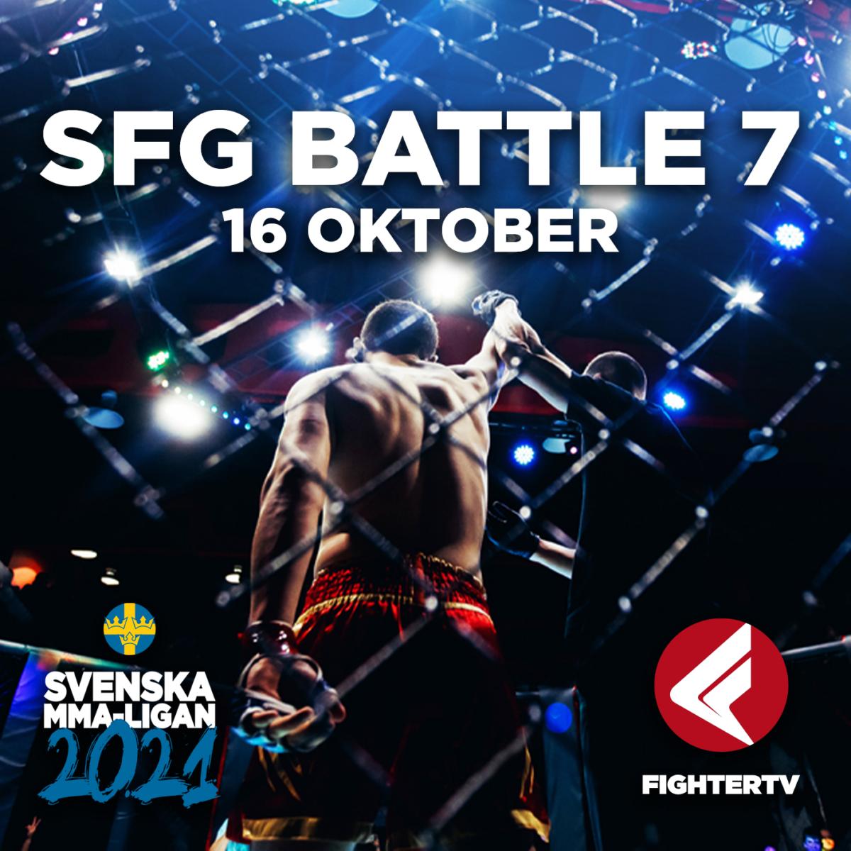 MMA-LIGAN 2021: SFG BATTLE 7